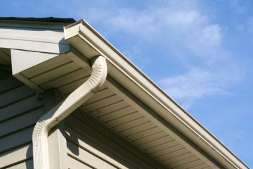 Linwood gutter installation by Global Home Exteriors